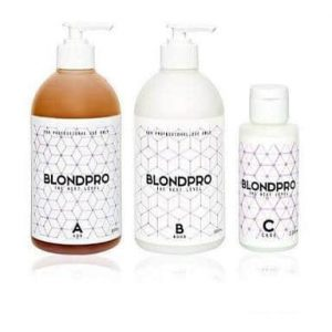 three blondpro products