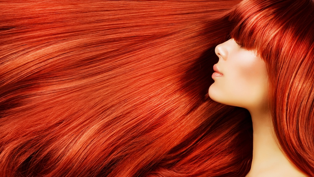 vibrant hair colour