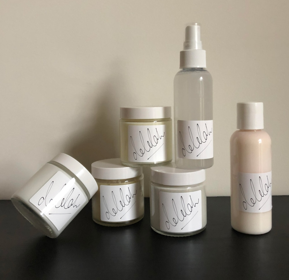 Delilah Hair Product Range Handmade Natural