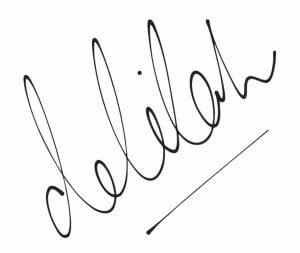 Delilah hair studio logo