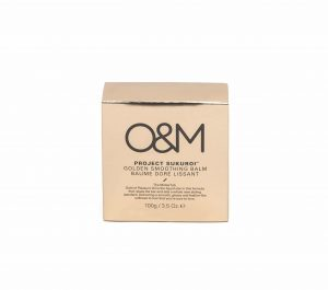 O&M golden smoothing balm product